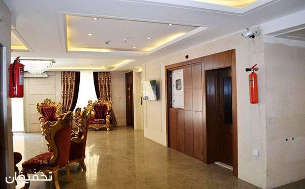 هتل نورنجف مشهد ویژه یک شب اقامت فولبرد به ازای هر نفر تا ۴۰% تخفیف