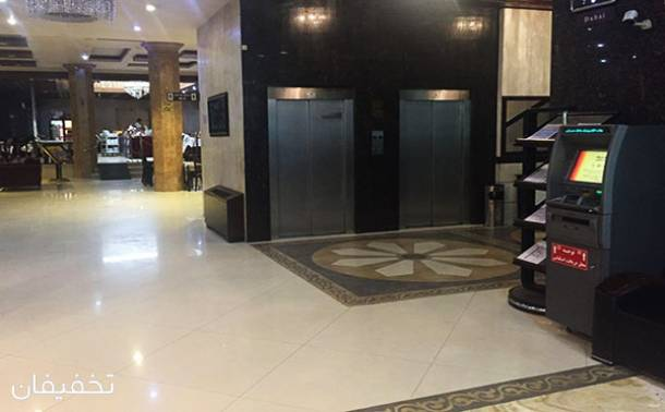 هتل سه ستاره پارمیدا مشهد