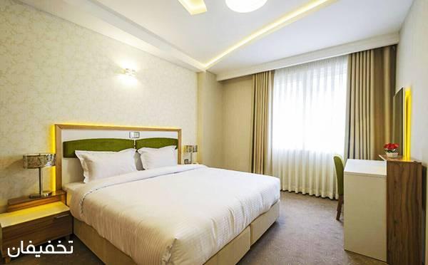 هتل آپارتمان سه ستاره حیات شرق ویژه یک شب اقامت به ازای هر نفر  تا ۳۵% تخفیف