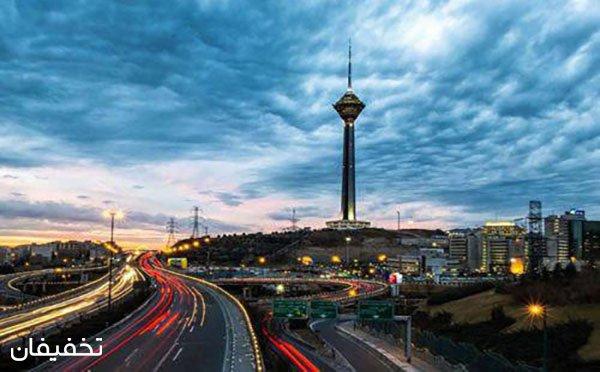 تور نیم روزه تهران گردی از گروه تورهای نوین با ۹۱% تخفیف