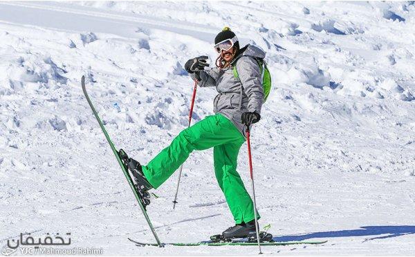 فقط در تخفیفان: پیست اسکی و تله کابین دربندسر با امکان اسکی در شب تا ۱۵% تخفیف