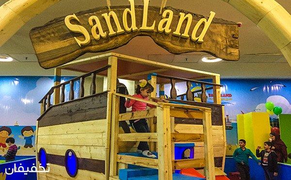 بازی و تفریح با ماسه ویژه کودکان ۳ تا ۹ سال در سرزمین ماسه با ۴۵% تخفیف