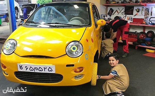 بازی امروز، شغل فردا: کاربازیا، شهر مشاغل کودکان در برج میلاد تهران تا ۳۰% تخفیف