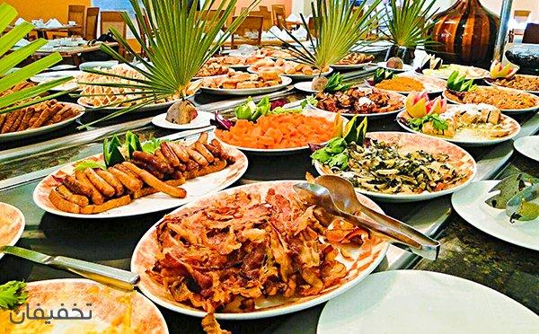 ۶۱% تخفیف رستوران زیبا و سرسبز باغ اعیونی ویژه افتتاحیه بوفه صبحانه ای دلپذیر