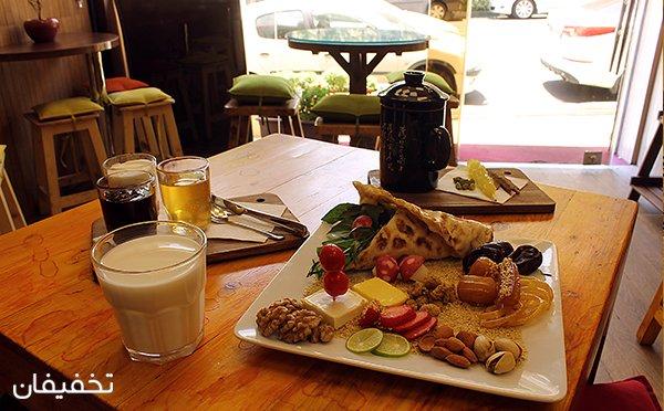 تا ۶۰% تخفیف کافه ژینو ویژه انواع نوشیدنی، کیک و بشقاب افطار