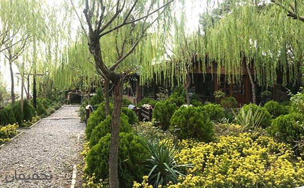 رستوران هوبره در فضای جنگلی باغ پرندگان تهران با منو باز تا ۵۰% تخفیف