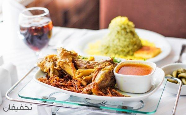 سفارش از منو غذا به همراه دسر رایگان فقط ویژه شام در رستوران بی نظیر نایب سعادت آباد با ۲۵%تخفیف