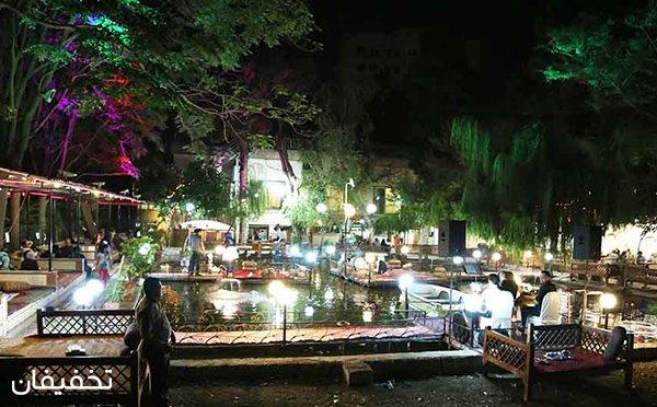 ۴۰% تخفیف ویژه باغ رستوران عظیمیه با منوی غذاهای ایرانی